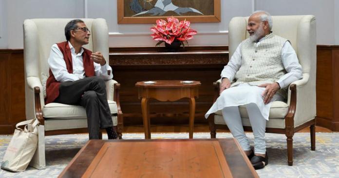 Abhijit Banerjee dismisses question over his 'anti-Modi' opinions