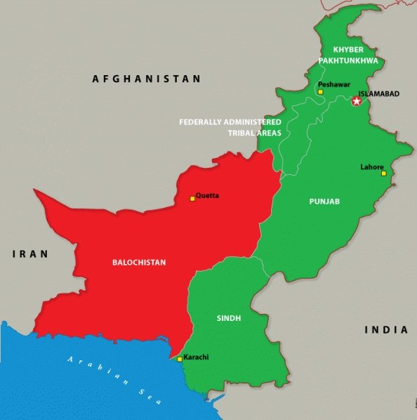 Balochistan and other regions of Pakistan