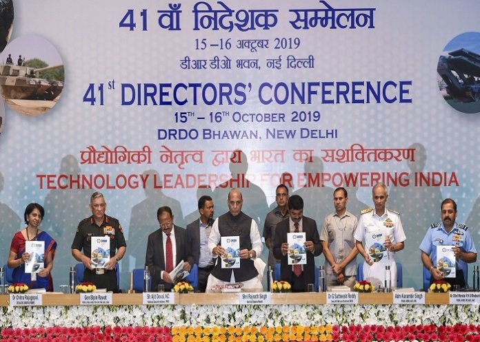 NSA Ajit Doval, Raksha Mantri Rajnath Singh and COAS Bipin Rawat spoke at the 41st Directors' Conference of DRDO