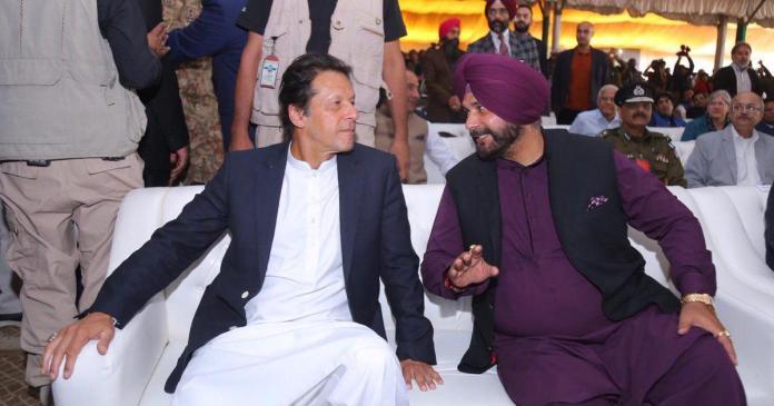 Imran Khan- Navjot Singh Siddhu