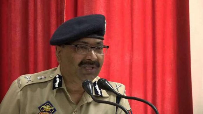 Jammu & Kashmir police DGP Dilbag Singh