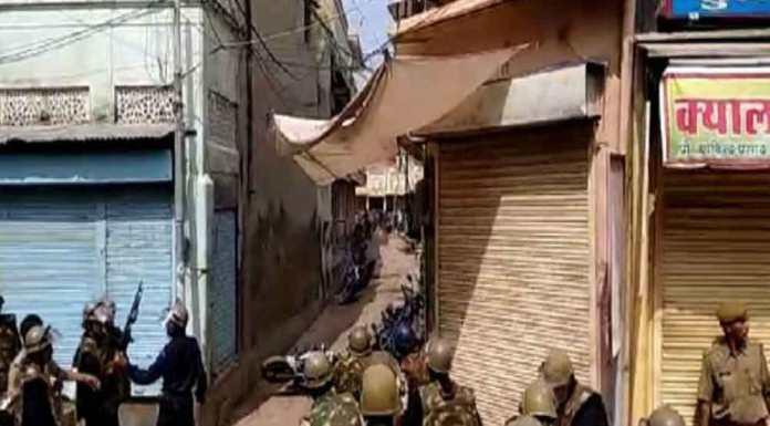 Curfew in Malpura was marred by Arson