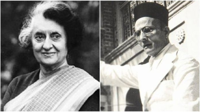 As Congress attempts to besmirch Savarkar's memory, Indira Gandhi's old letter exposes their hypocrisy