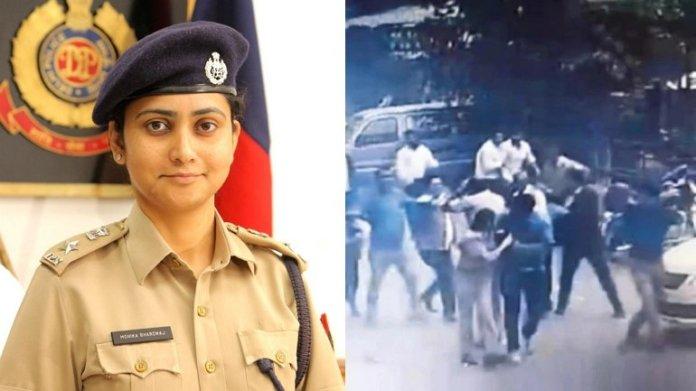 DCP North monika bhardwaj attacked by lawyers