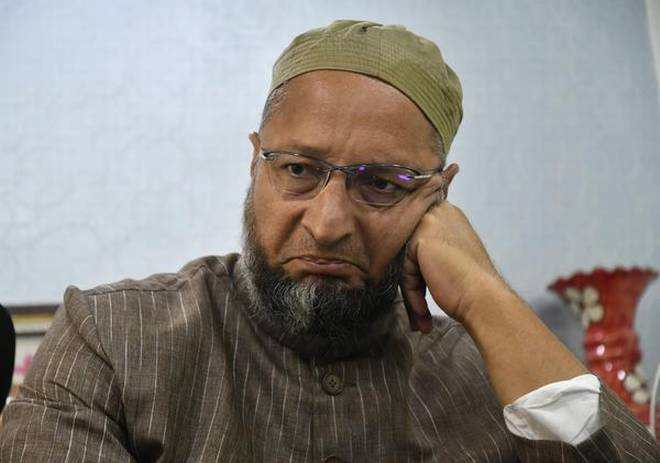 BJP MP says Owaisi is a clown so he will be hung upside down