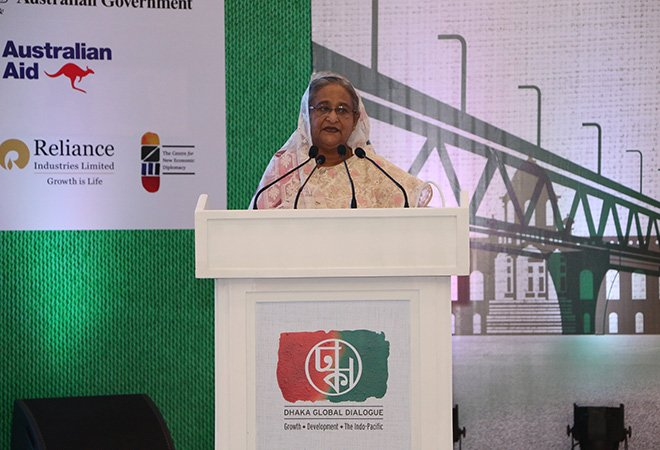 Sheikh Hasina stated that Rohingyas are a threat to national Security
