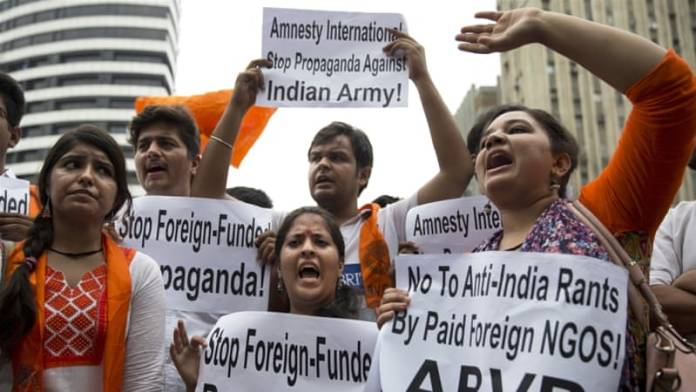 The central government has asked probe agencies like CBI and NIA to keep watch on the anti-India activities of NGOs