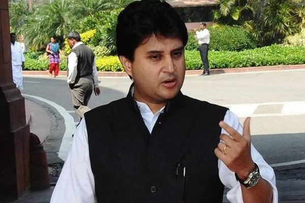 Change in Twitter bio of Jyotiraditya Scindia fuels rumours