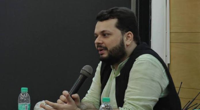 Shivam Vij denies reality of partition, claims it happened on the basis of secularism and not religion