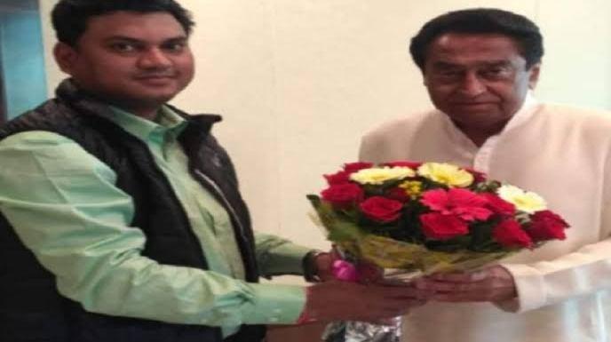 Congress MLA Hiralal Alawa backs mafia don Jitu Soni