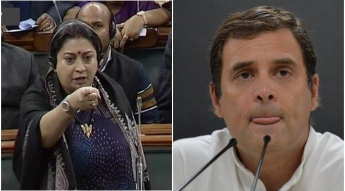 Rahul Gandhi uses cheap comments to trivialise and mock sexual crimes against women, uproar in parliament