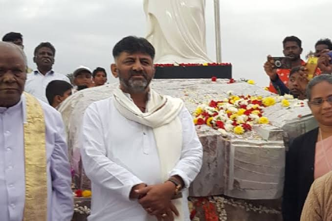 DK Shivakumar's Christ statue: RSS, VHP protest against 114 feet tall statue project on alleged grazing land