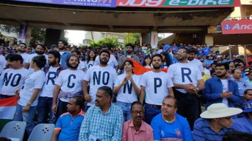 Spectators protesting against CAA, NRC confronted by individuals and pro-Modi slogans