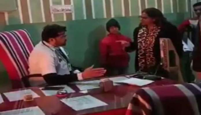 Viral video shows SDM calling on-duty doctor in Rajasthan 'mentally unstable' for not offering her his own chair as he checked patients