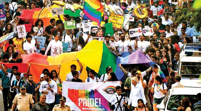 Pride march in mumbai/ pride march/LGBTQ+ People Fight Against Sedition At Mumbai Pride March Event