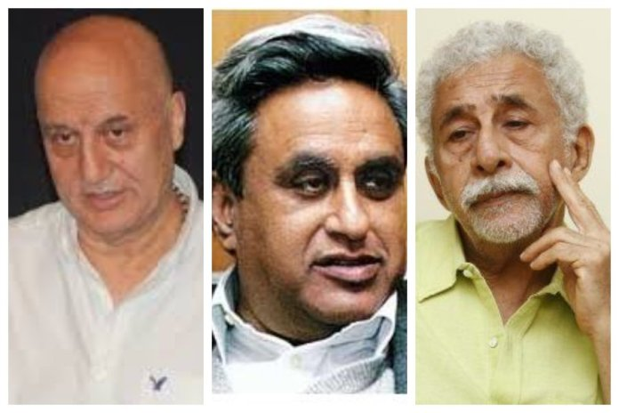 Swaraj Kaushal was hounded by so-called 'liberals' for his tweets supporting Anupam Kher