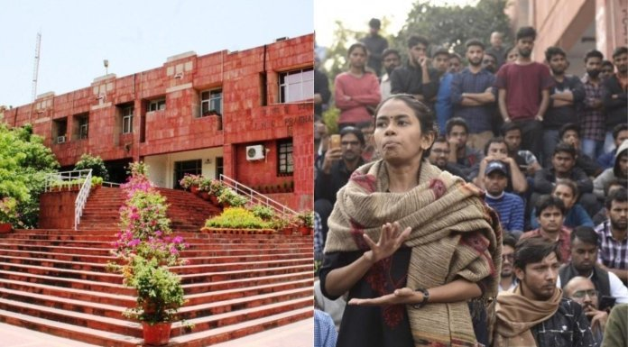 Students of JNU who want to continue registration allege harassment by leftists