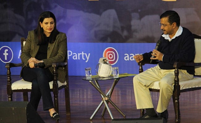 NDTV Townhall With Delhi Chief Minister Arvind Kejriwal