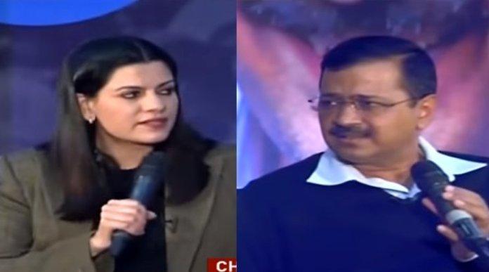 Nidhi Razdan Arvind Kejriwal CAA lie