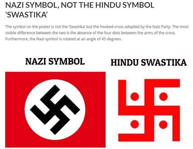 Alt News Swastika