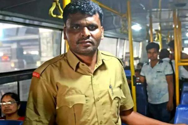 Karnataka Bus Conductor, Madhu NC, clears UPSC main Exams