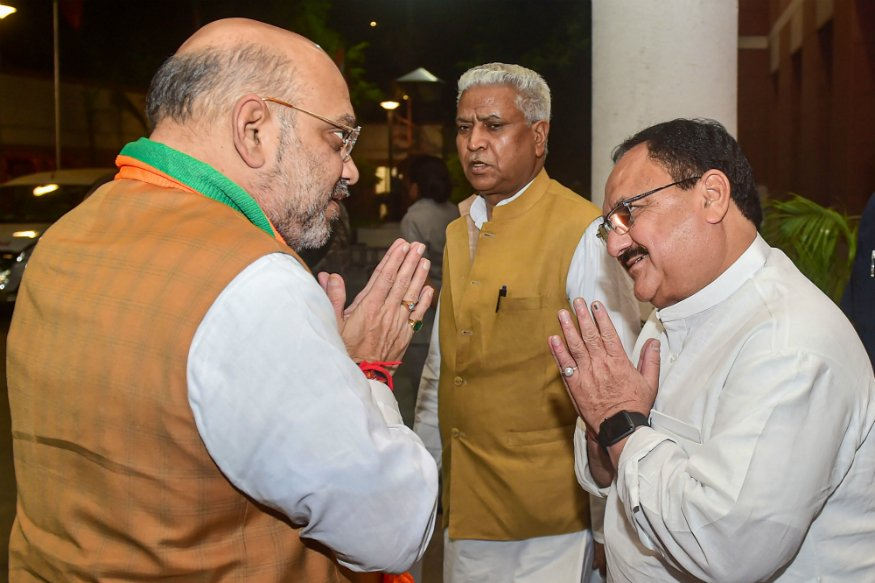 J. P. Nadda elected new BJP chief, PM Modi will felicitate him later today at party headquarters