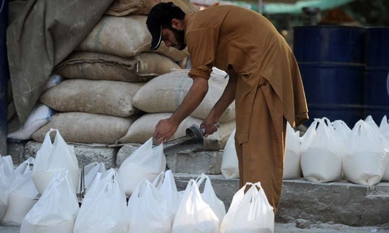 Pakistan struggles with food crisis as wheat flour, sugar prices shoot up