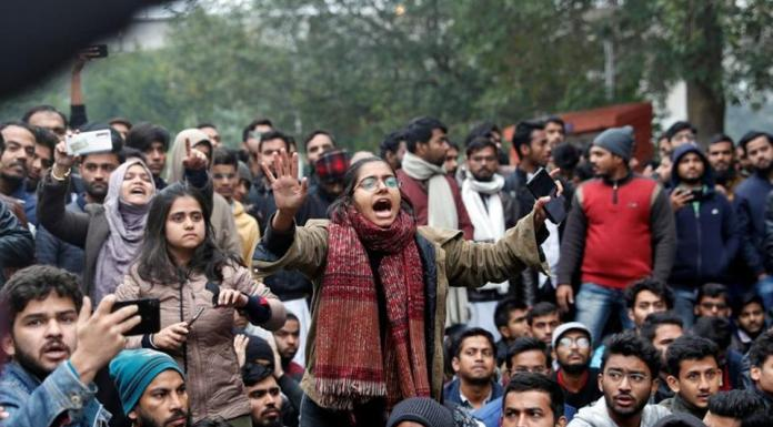 Protests mobilised against the Delhi Police action on December 15, 2019 against Jamia Nagar rioters