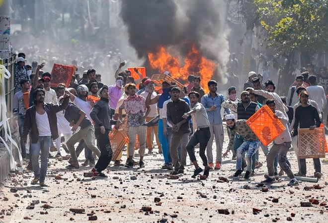 MHA sources claim Delhi Violence staged to coincide with US President Trump's visit