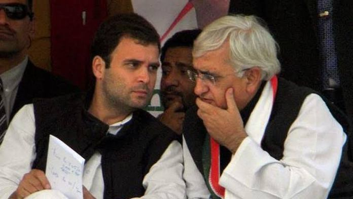 Salman Khurshid says Rahul Gandhi still the choice of majority in the Congress party