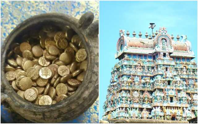 Pot full of over 500 gold coins found in Tamilnadu's 1800 year-old Shiva temple