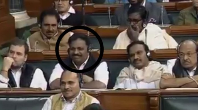 Meet the Congress member who couldn't hide his laughter when PM Modi called Rahul Gandhi a tubelight