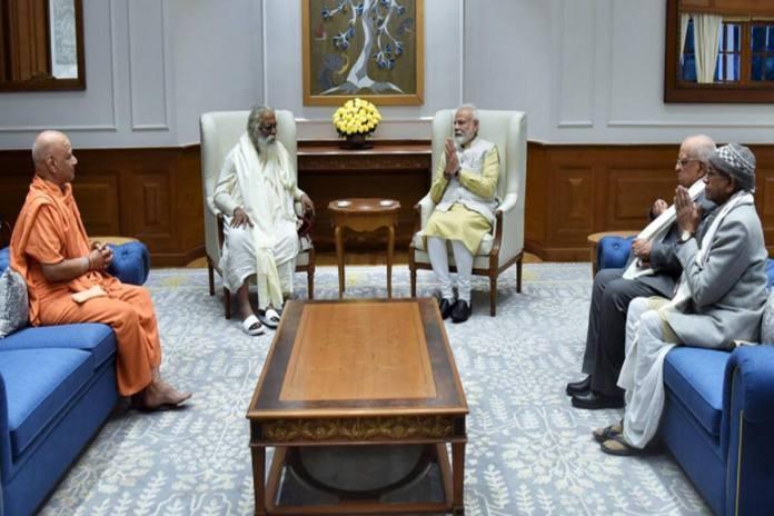 Ram Janmabhoomi trustees meet PM Modi, invite him for foundation stone laying ceremony