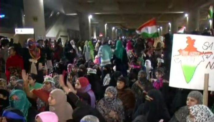 After Shaheen Bagh, Anti-CAA protestors block road near Jaffrabad Metro