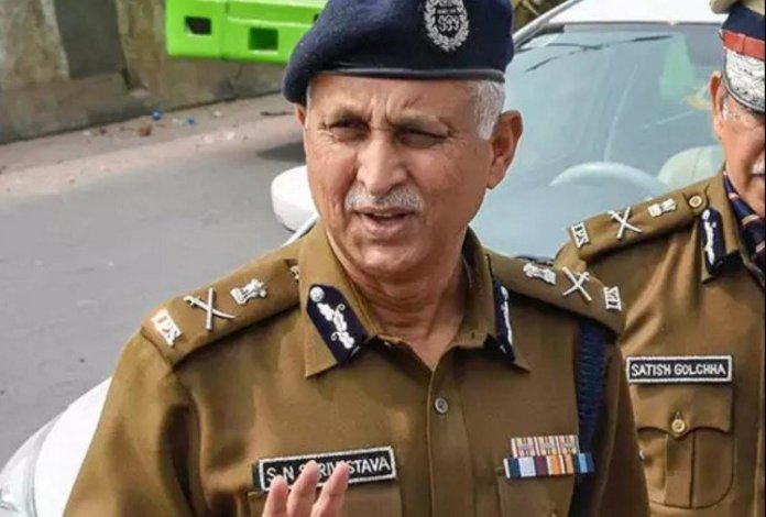 SN Srivastava to be Delhi's new top cop