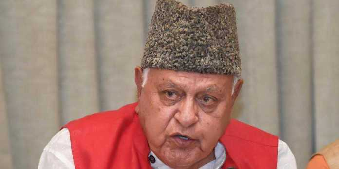 J and K administration orders release of Farooq Abdullah