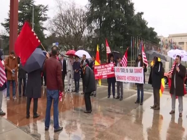 Kashmiris protest against Pakistan