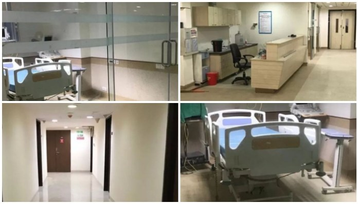 Reliance Foundation has readied a 100-bed dedicated hospital for covid-19 patients