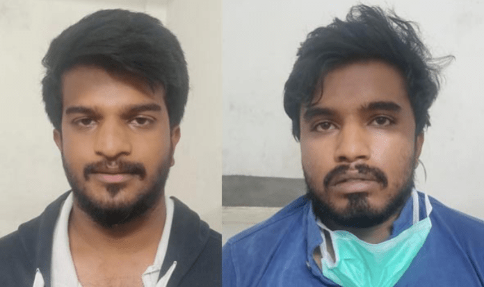 Bengaluru: Two men named Tajuddin and Kutubuddin arrested for assaulting policemen during the coronavirus lockdown