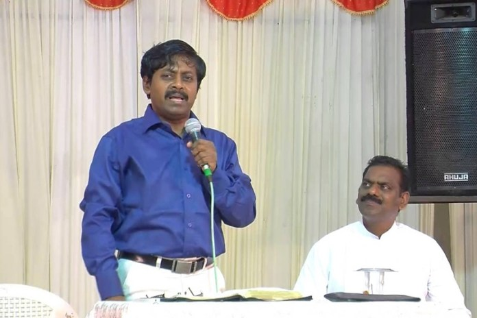An IAS officer named Umashankar was caught preaching Christianity inside the government hospital in Chennai