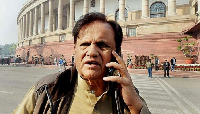 Congress leader Ahmed Patel in dock over party funds, I-T issues summons