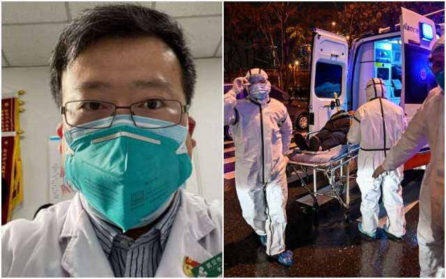 Dr Li Wenlian had died in February after contracting coronavirus, a disease he had died to warn the authorities about, image via Qt