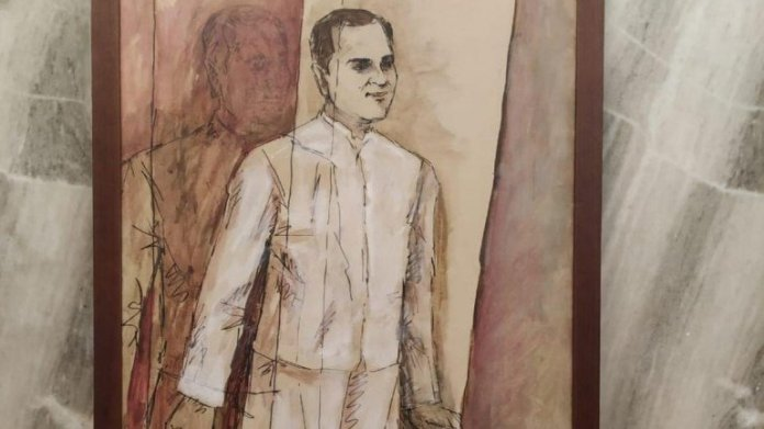 Priyanka Gandhi is accused of expropriating painting gifted to Congress party to accrue financial dividends from it