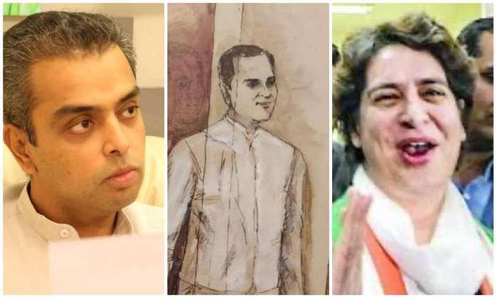 Milind Deora, Priyanka Gandhi, Yes Bank