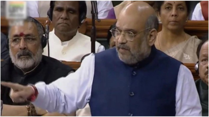 Home Minister Amit Shah speaks in Lok Sabha, elaborates how Delhi Police is working to nab rioters