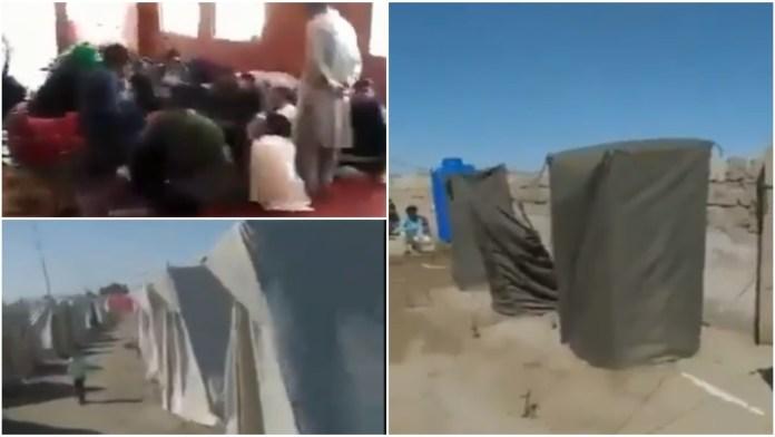 Pakistan quarantine camps