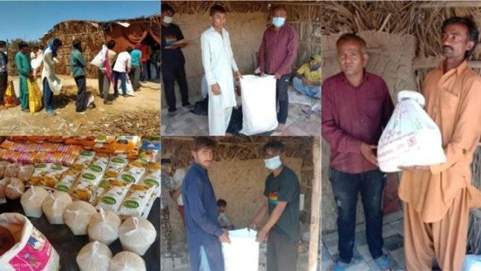 Coronavirus: RSS distributes rice, wheat and essential items to Pak Hindus