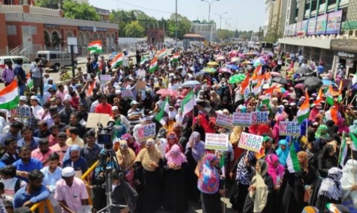 Anti-CAA protest in Chennai