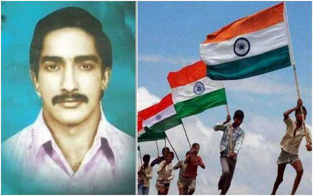 Sama Jaganmohan Reddy was killed by Naxals because he dared to uphold the Tricolour