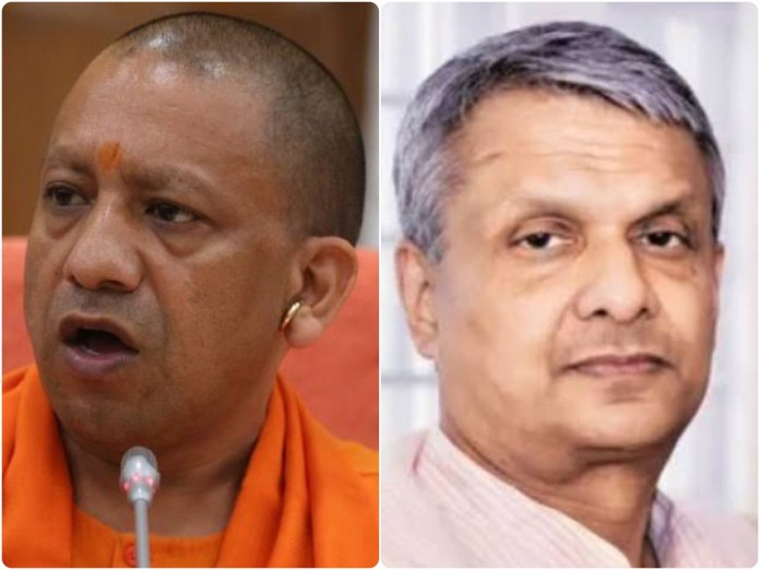 Tathagata Satpathy passes a debased remark over Yogi Adityanath's decision to avoid his father's funeral to fight the coronavirus pandemic